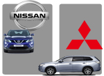 Nissan Mitsubishi European sales analysis 2014 2015