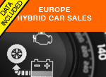 Hybrid car sales Western Europe 2016 AID Newsletter