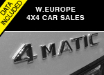 AID Newsletter 4WD 4x4 European sales trends