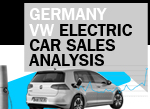 Germany VW BEV electric car sales spike