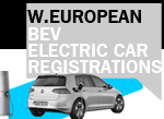 Europe electric car registrations October 2017