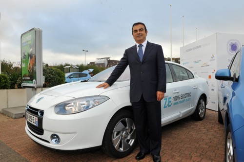 Carlos Ghosn still leaning on electric car future