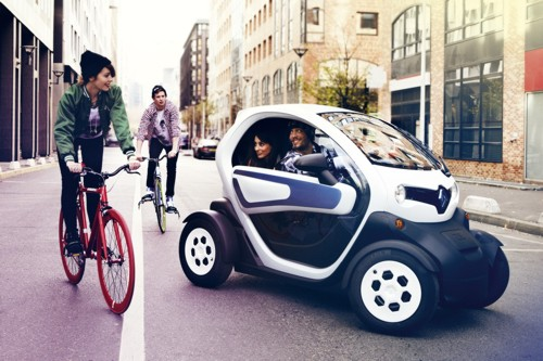 Renault Twizy electric town runabout