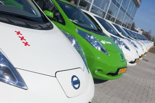 Nissan LEAFs Holland 2012
