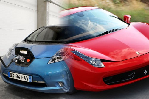 Ferrari outsells Nissan Leaf in France