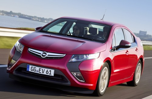 Opel Ampera top selling ZEV first half 2012