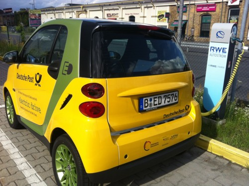 Electric Smart Berlin Germany