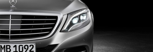 Mercedes-Benz 2014MY S-Class grill front