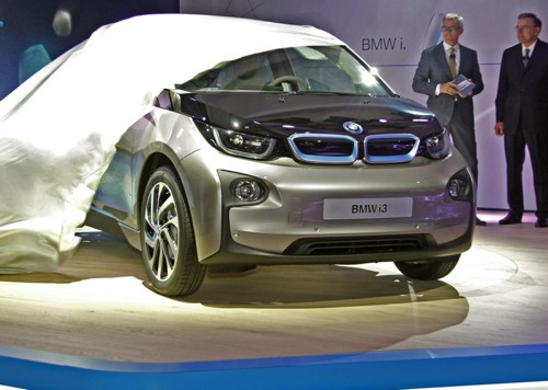 COvers come off new BMW i3 this week