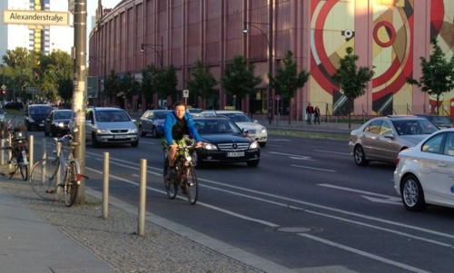 Berlin sumer traffic picking up 2013