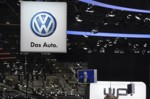 VW badge Frankfurt IAA 2011 Up!