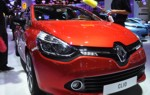 Renault Clio grill orange dust