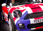 New Mini 2014MY Union Jack colours