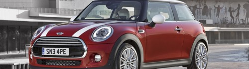 New 2014MY BMW Mini produced in Oxford