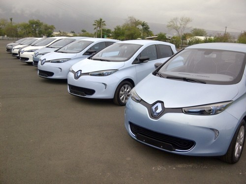 Renault ZOE blue 2013 ready to go