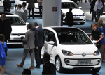VW up Frankfurt motor show 2013