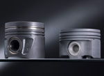 Daimler Mercedes-Benz steel pistons diesel engine