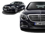 Mercedes S-Class 2014MY front and side