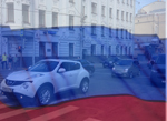 Nissan Juke Moscow Russia traffic August 2014