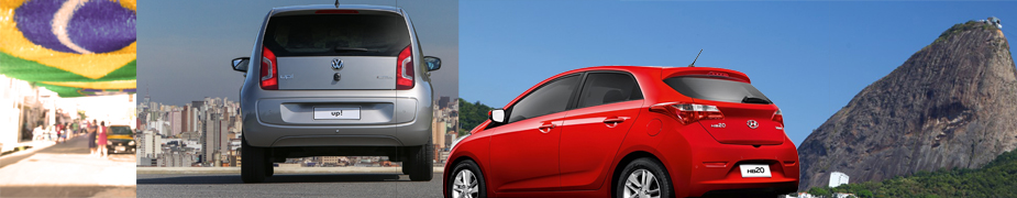 Brazil car sales October 2014