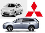 Mitsubishi Mirage and Outlander January 2015