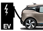 AID Graphic BMW I3 Charging electric fuel station