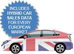 UK hybird car sales 2014 - UK Toyota Prius