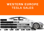 West European Tesla Sales 9-Months January September 2015