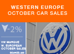VW brad car sales October 2015 snow