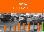 India car sales January - October history - India traffic