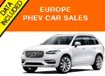 Volvo XC90 PHEV plug-in West Europe sales May 2016