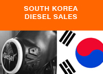 South Korea Diesel passenger car sales 2016