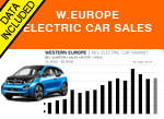 West European Car sales Electric September