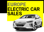 Hyundai Ioniq Electric car January BEV car sales Europe