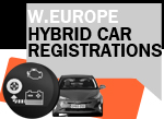 West European Hybrid sales Q1 2017