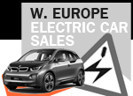 July electric car sales Western Europe BEV